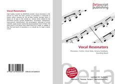 Bookcover of Vocal Resonators