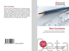 Bookcover of Ricci Curvature