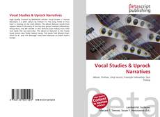 Vocal Studies & Uprock Narratives kitap kapağı