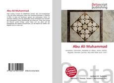 Abu Ali Muhammad kitap kapağı