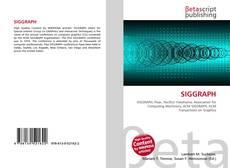 SIGGRAPH的封面