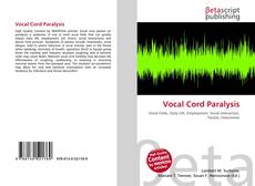 Bookcover of Vocal Cord Paralysis