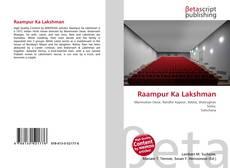 Couverture de Raampur Ka Lakshman