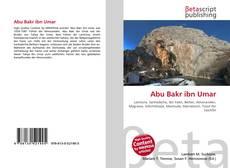 Bookcover of Abu Bakr ibn Umar