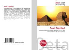 Bookcover of Saad Zaghloul
