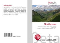 Bookcover of Abtei Payerne