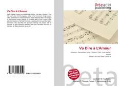 Buchcover von Va Dire à L'Amour