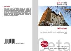 Bookcover of Abu Dun