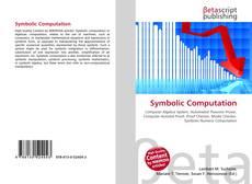 Bookcover of Symbolic Computation