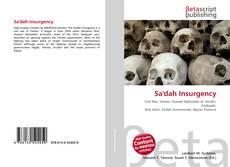 Bookcover of Sa'dah Insurgency