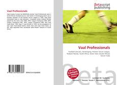 Bookcover of Vaal Professionals