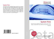 Bookcover of System Time