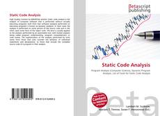Bookcover of Static Code Analysis