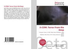 X-COM: Terror From the Deep的封面