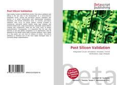 Capa do livro de Post Silicon Validation