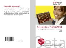 Bookcover of Preemption (Computing)