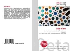 Capa do livro de Abu Hani