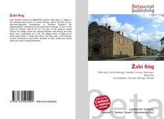 Capa do livro de Żabi Róg
