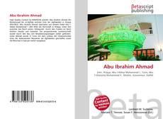 Abu Ibrahim Ahmad的封面