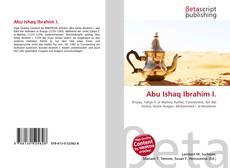 Abu Ishaq Ibrahim I.的封面