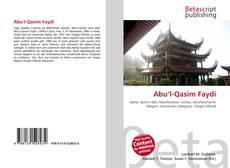 Capa do livro de Abu'l-Qasim Faydi