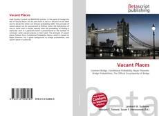 Buchcover von Vacant Places