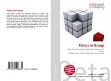 Bookcover of Poincaré Group