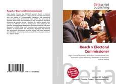 Portada del libro de Roach v Electoral Commissioner