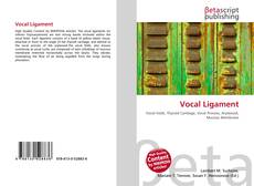 Couverture de Vocal Ligament