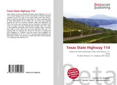 Bookcover of Texas State Highway 114