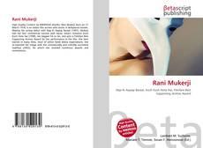 Bookcover of Rani Mukerji