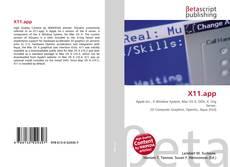 Buchcover von X11.app