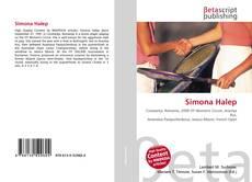 Simona Halep kitap kapağı