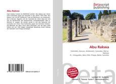 Capa do livro de Abu Rakwa