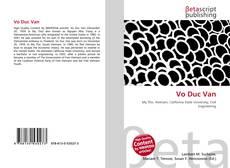 Bookcover of Vo Duc Van