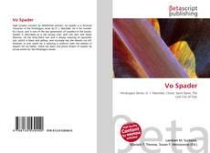 Bookcover of Vo Spader
