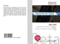 Capa do livro de Abu Seif