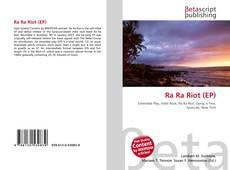 Portada del libro de Ra Ra Riot (EP)