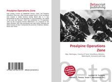 Couverture de Prealpine Operations Zone