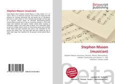 Bookcover of Stephen Mason (musician)