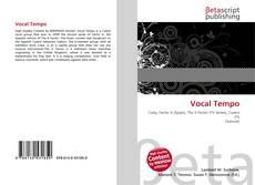 Bookcover of Vocal Tempo