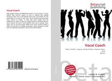 Capa do livro de Vocal Coach