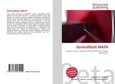 Bookcover of Zentralblatt MATH