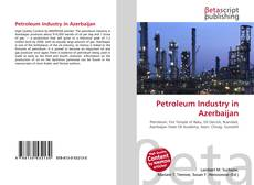 Bookcover of Petroleum Industry in Azerbaijan