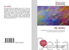 Bookcover of Ub, Serbia