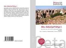 Abu Zakariya'Yahya I. kitap kapağı