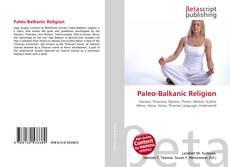 Paleo-Balkanic Religion的封面