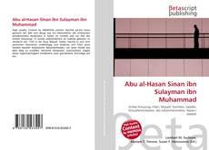 Bookcover of Abu al-Hasan Sinan ibn Sulayman ibn Muhammad