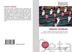 Abwehr (Fußball)的封面