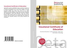 Bookcover of Vocational Certificate of Education